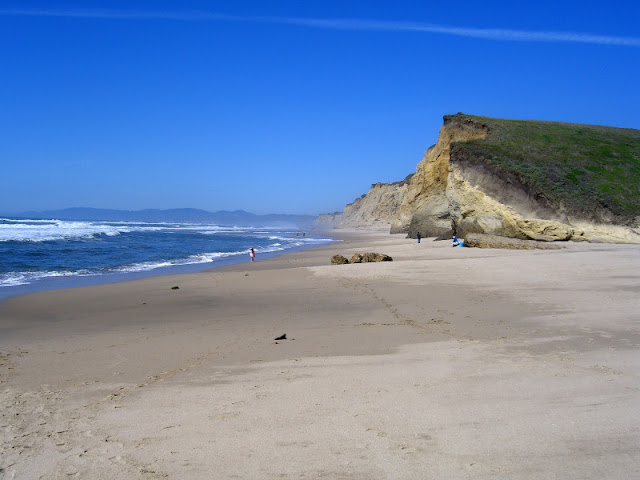 Pescadero Beach Sea Cliffs