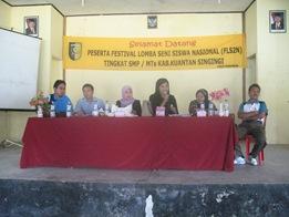 Juri Festival Lomba Seni Siswa Nasional (FLS2N) 2010