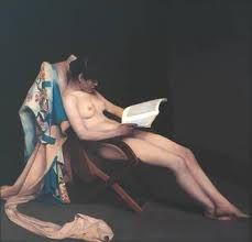 Muchacha leyendo, de Théodore Roussel.- Editado en Colores