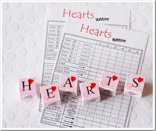 heart yahtzee final