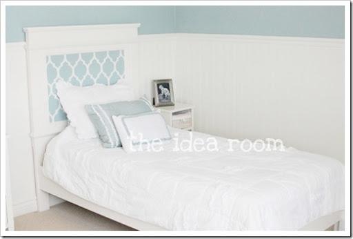 diy headboard and bed frame - the idea room