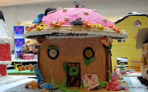 Wonderland Themed Gingerbread House