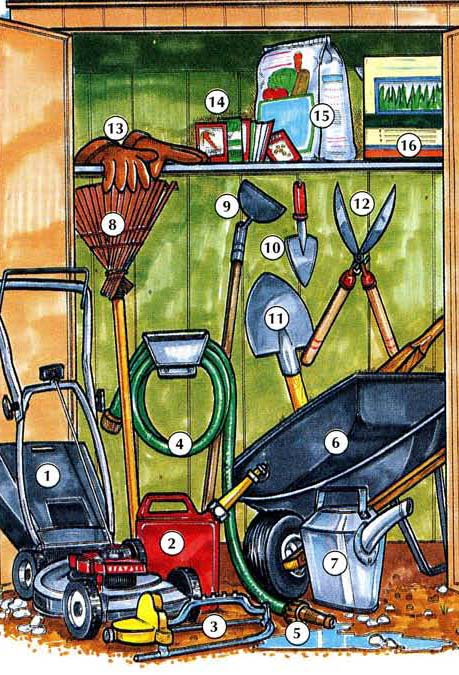 GARDENING TOOLS AND HOME SUPPLIES