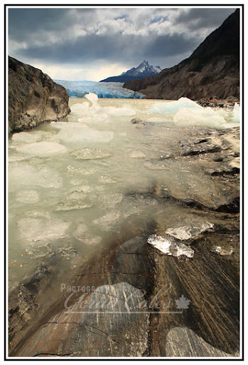 First glimpse of Glacier Grey