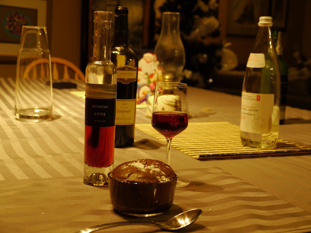 Souffle and ice wine