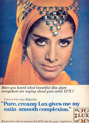 Zaheeda in Lux ad