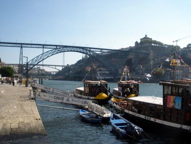 Oporto en un día. Puente de Luis I
