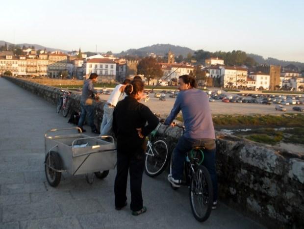 Camino de Santiago portugués. Ponte de Lima