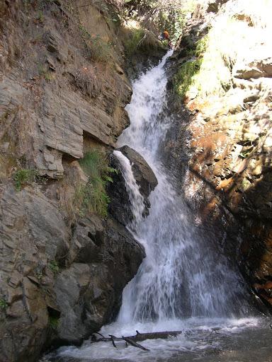 Una cascada de 15 metros, de las más interesantes del Bermejo inferior