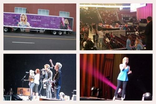 Taylor Swift, Gloriana, Kellie Pickler