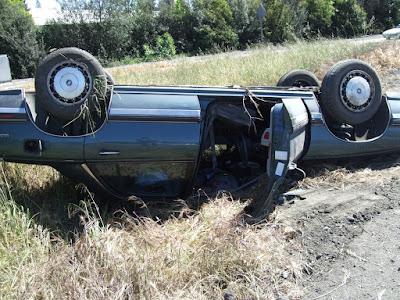 a Buick szombat délután fél 2 körüli állapota