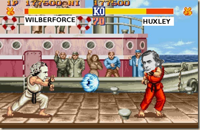 Wilberforce vs. Huxley