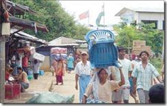 Moreh gate to Burma