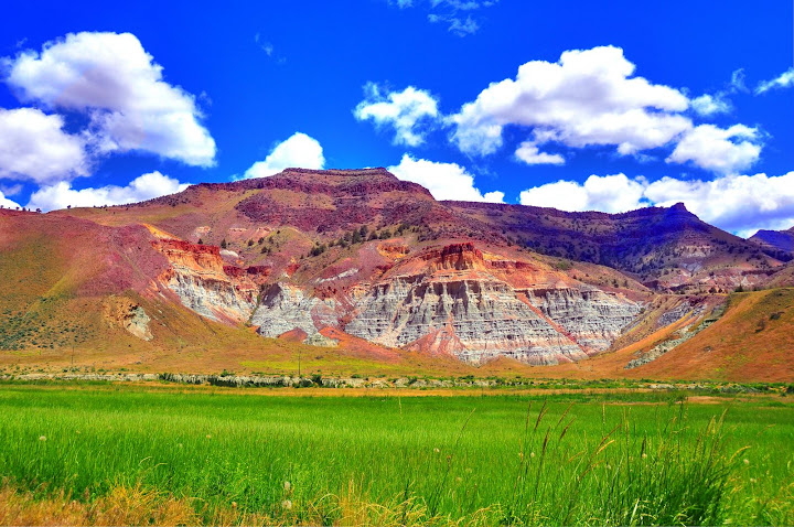 Blue Basin in John Day Fossil Beds National Monument, Oregon