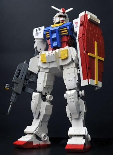 Gundam Lego 1