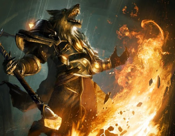 Wolf Mage