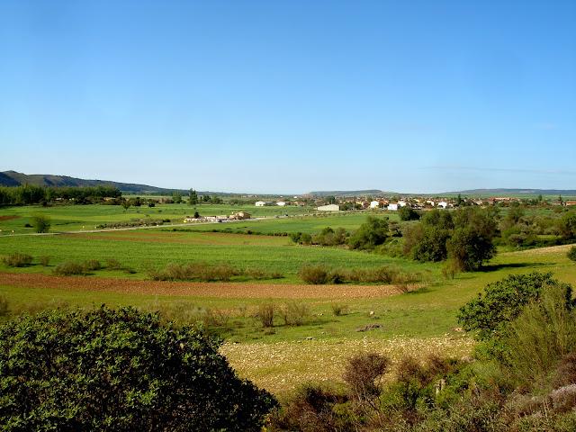 Valle por donde trascurre el río Jarama