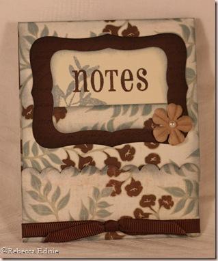 grey blue matchbook notes