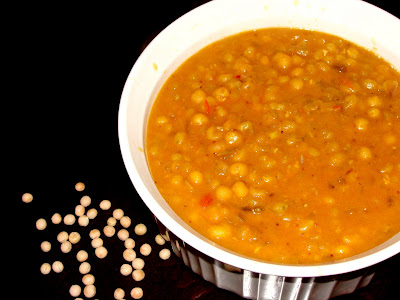 Yellow Peas Curry