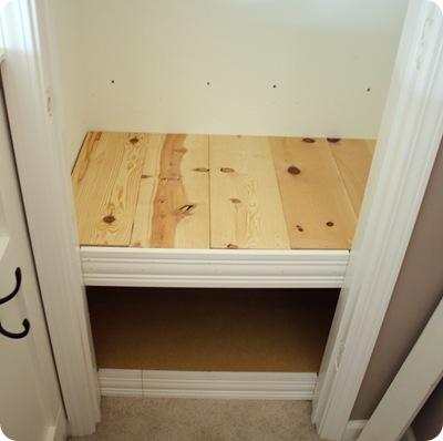 closet bench
