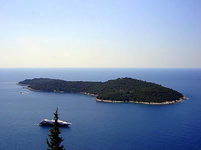 адриатическо море дубровник остров локрум