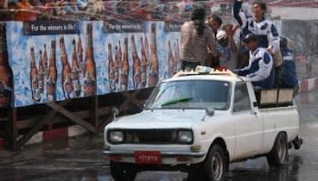 Celebrating Myanmar Thingyan