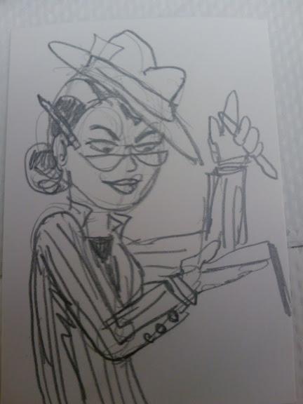 Hattie Harper Plucky Girl Reporter