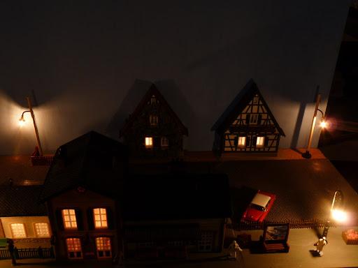 Verlichting huisjes