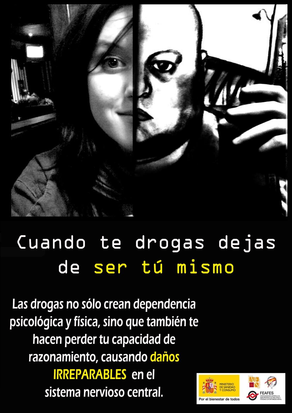 Las Drogas Te Hacen Dano