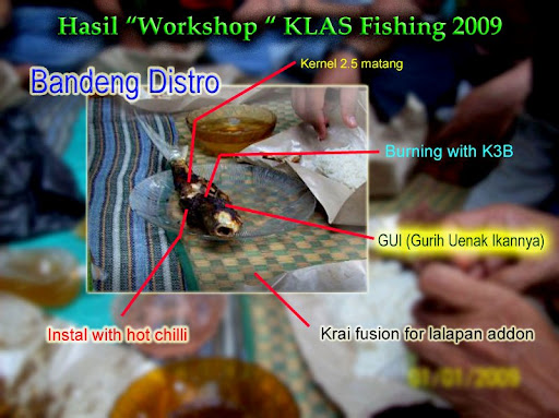 Menu utama KLAS Fishing