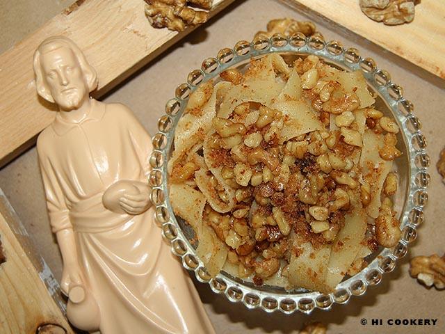 Pappardelle di San Giuseppe