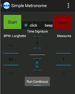 Marching Band Metronome screenshot 0
