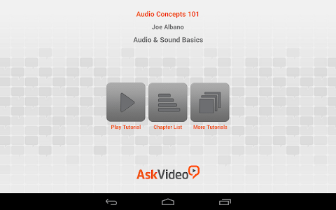 Audio and Sound Basics screenshot 0