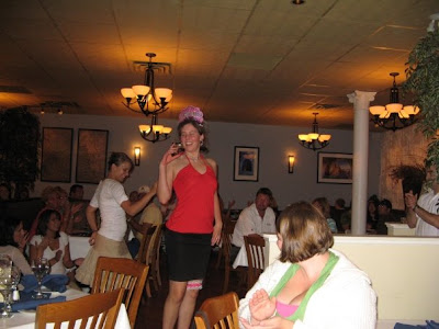 Yes, thats me attempting to dance. Too bad the guy in Crete cancelled out on us - I needed those lessons!