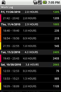 Workaholic screenshot 2