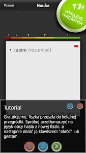 FISZKI Włoski Czasowniki A screenshot 1