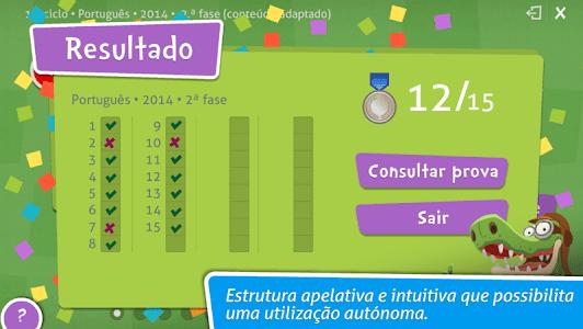 Provas Finais Português screenshot 9