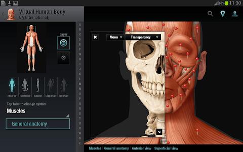 Virtual Human Body screenshot 9