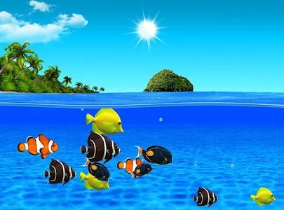 Aqua World HD Free wallpaper screenshot 3