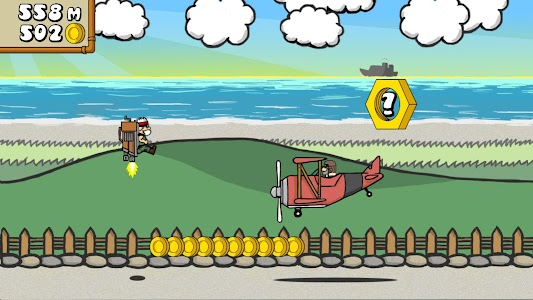 Dr. Gentleman's Jetpack Run screenshot 14