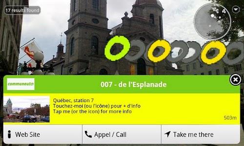 Communauto AR screenshot 1