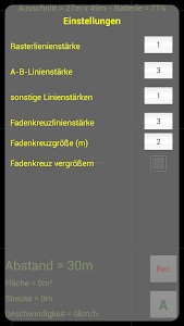 GPS Parallelfahrhilfe screenshot 6