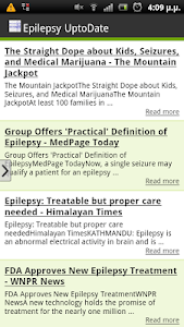 Epilepsy UptoDate screenshot 0