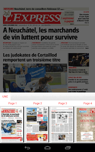 L'Express journal screenshot 12