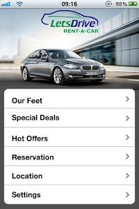 Rent Car Dubai - Lets drive screenshot 0