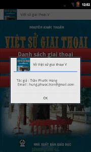 Việt Sử Giai Thoai V screenshot 4