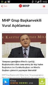 MHP Haberleri screenshot 2