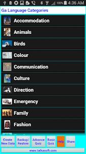 Speak and Write Ga Language screenshot 2