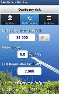 Risk Estimater by I Am Default screenshot 2