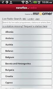 Newfox Radio screenshot 4